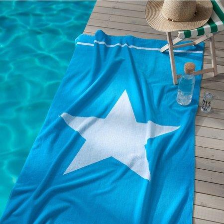 Seahorse Strandlaken Star Aqua