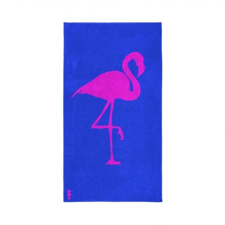 Seahorse Strandlaken Flamingo