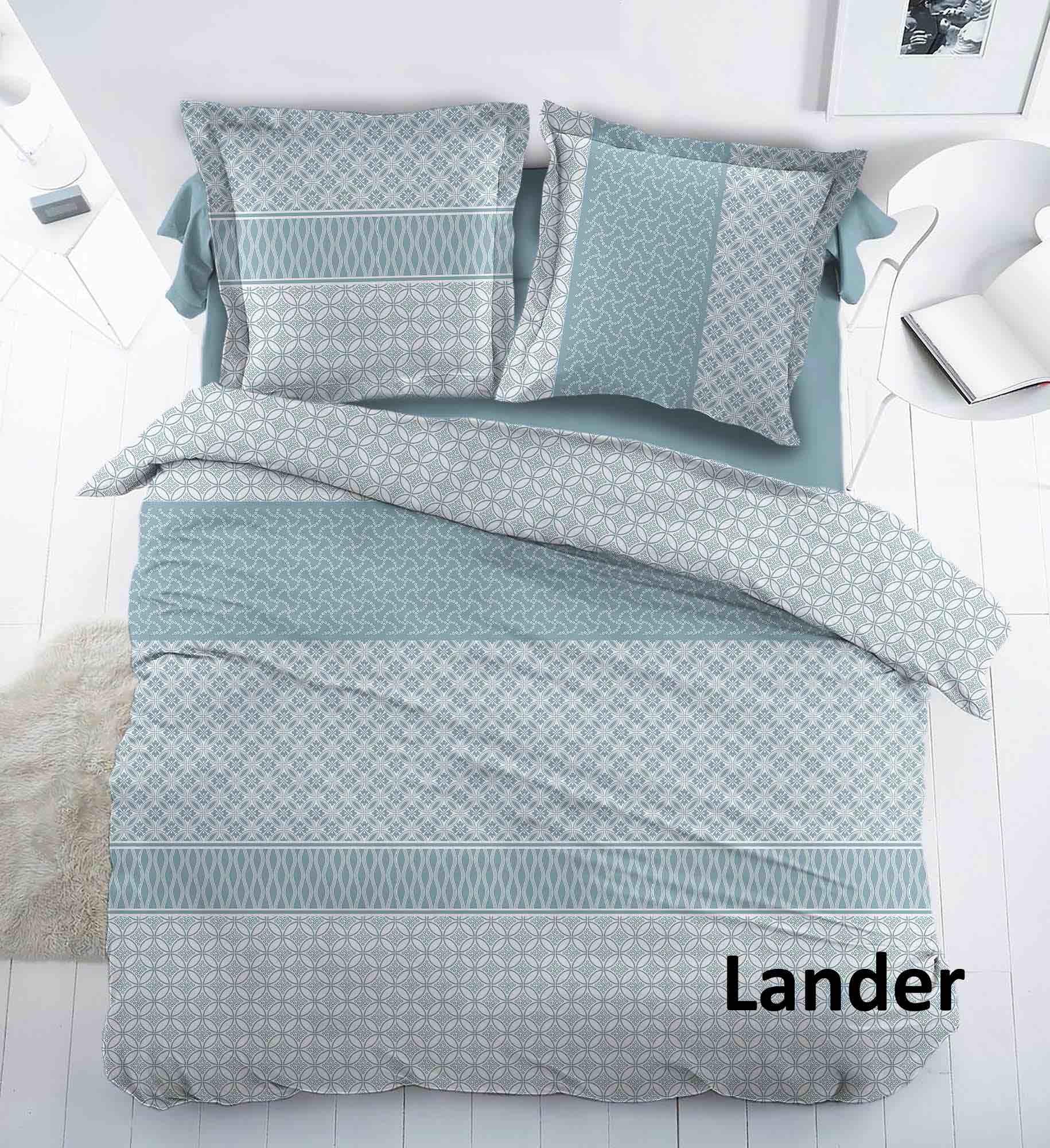 Cottons Dekbedovertrek Flanel Lander