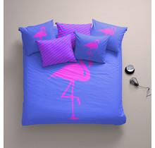 Dekbedovertrek Katoen Best Flamingo Forever