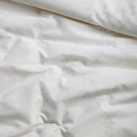 Cinderella Dekbedovertrek Katoen Corolla White