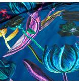Damai Dekbedovertrek Satijn Florian Sonic Electric Blue