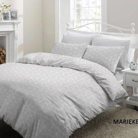 Cottons Lakenset Katoen Marieke Grey