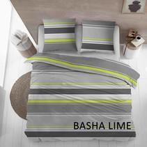 Lakenset Katoen Basha Lime