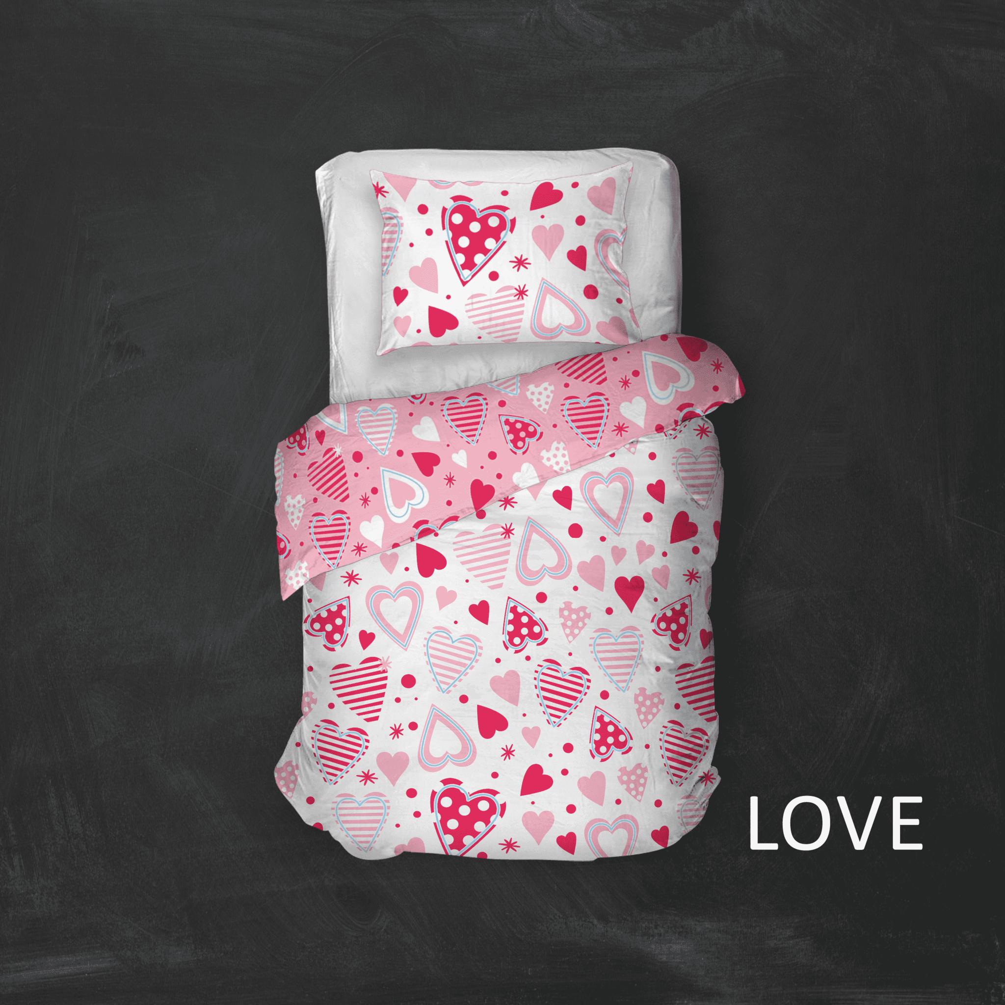 Cottons Dekbedovertrek Katoen Love