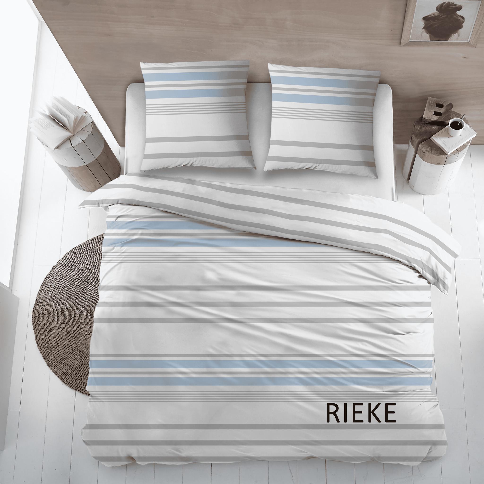 Cottons Dekbedovertrek Katoen Rieke Bleu