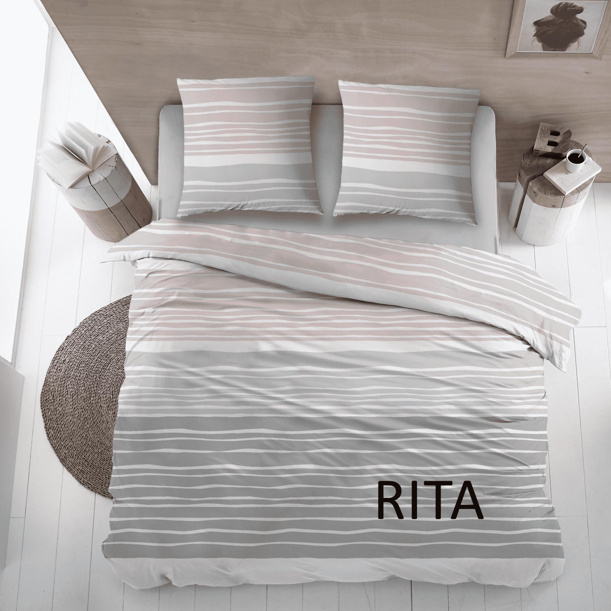Cottons Dekbedovertrek Katoen Rita Rose