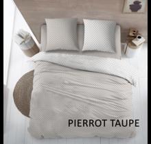 Lakenset Katoen Pierrot Taupe