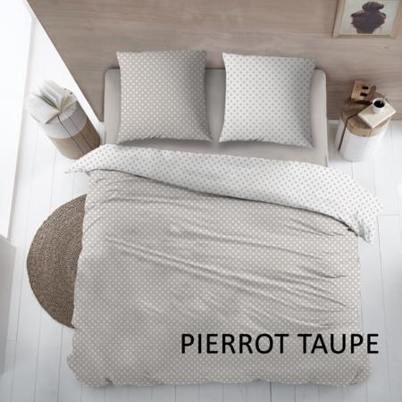 Cottons Lakenset Katoen Pierrot Taupe