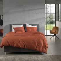 Dekbedovertrek Satijn Satinado Copper Orange