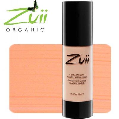 Zuii Organic FLORA LIQUID FOUNDATION OLIVE NEUTRAL
