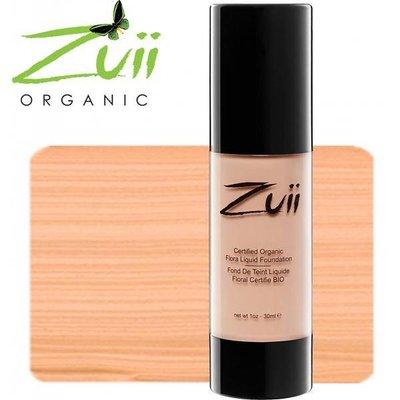 Zuii Organic FLORA LIQUID FOUNDATION NATURAL BISQUE