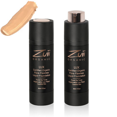 Zuii Organic LUX Flawless Liquid Foundation Driftwood