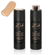Zuii Organic LUX Flawless Liquid Foundation Dusk