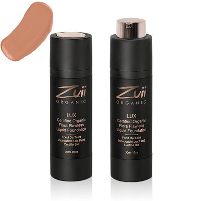 Zuii Organic LUX Flawless Liquid Foundation Sunkissed