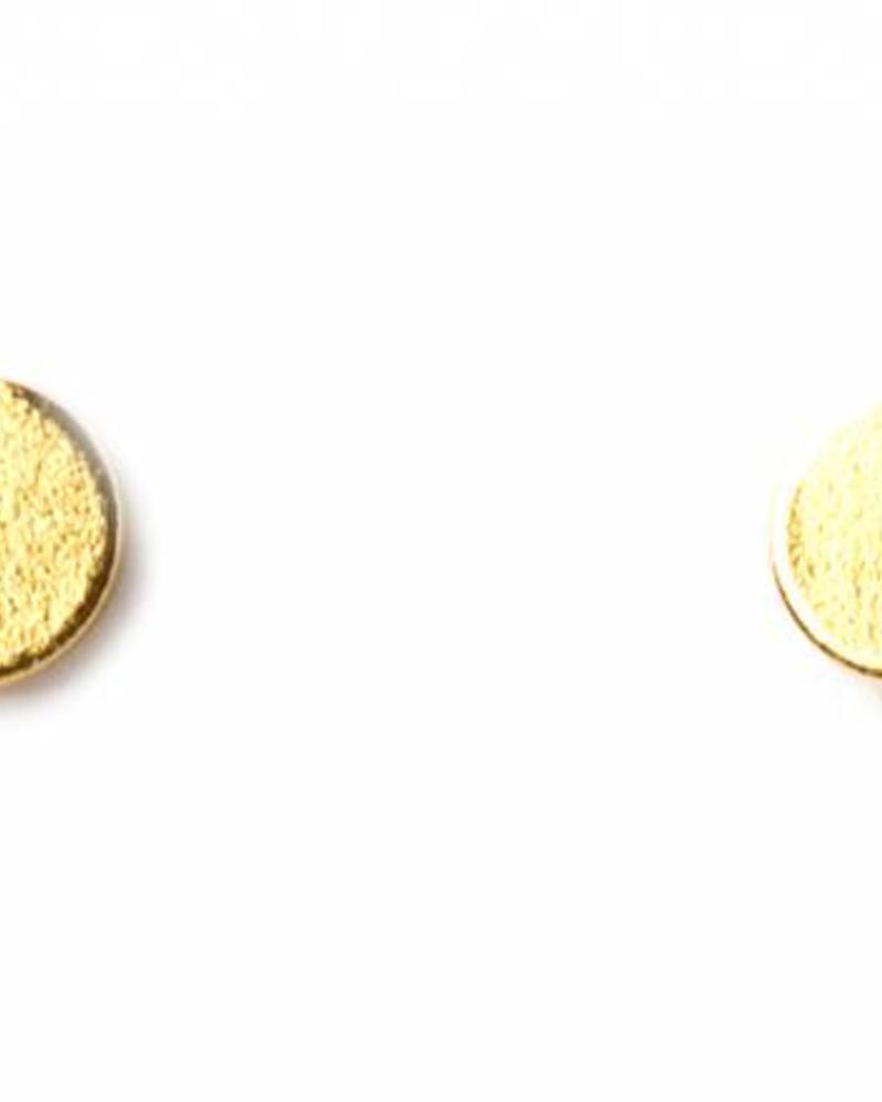 Muja Juma Gold-plated earring