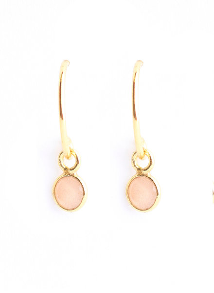 Earring  gold plated 925 sterling silver