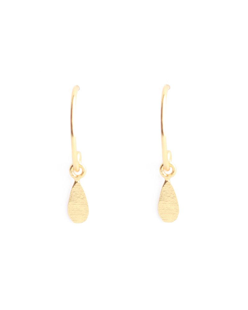 Muja Juma Earring drop gold plated