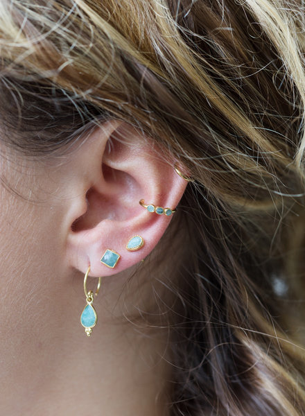 Muja Juma Ear cuff gold plated 925 sterling silver