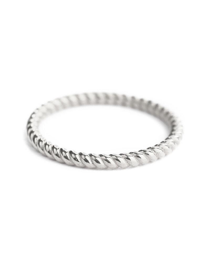Muja Juma  Ring size 54 plain bold silver