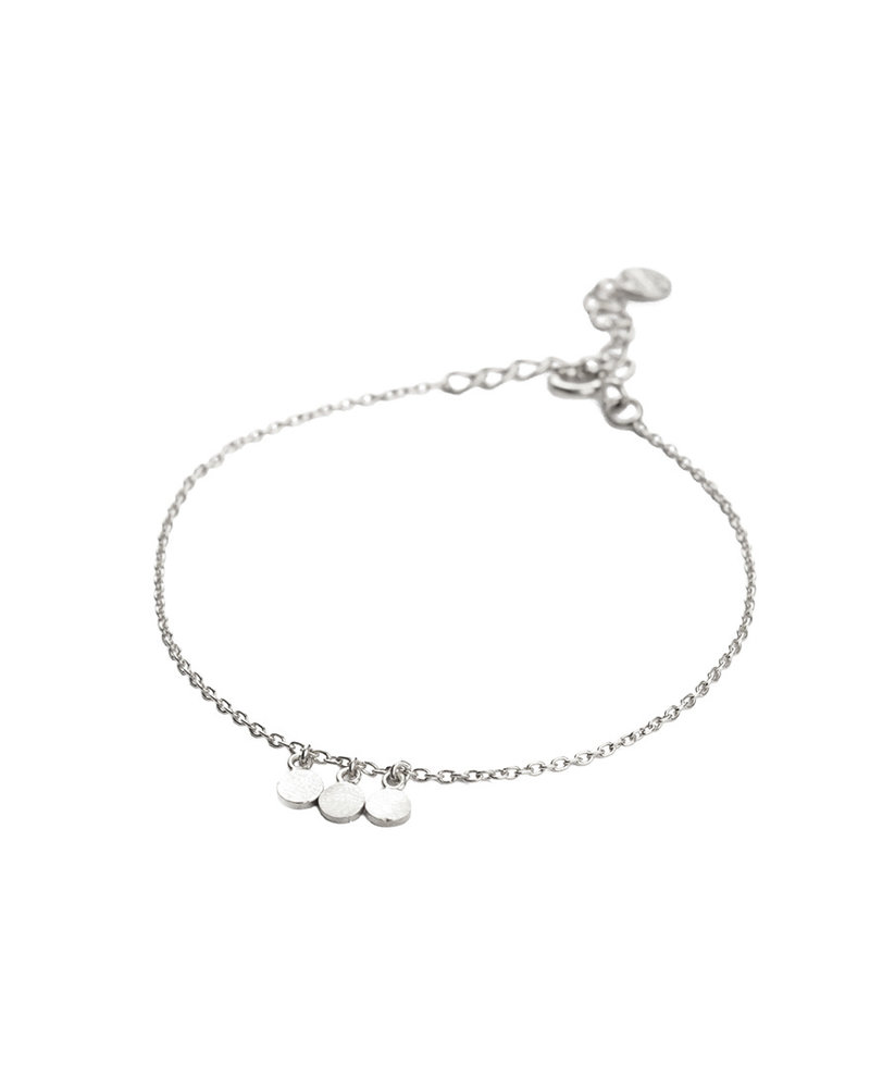 Muja Juma Bracelet three little coins silver