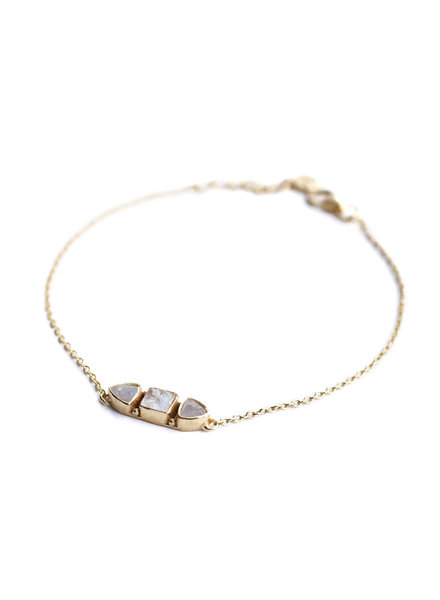 Bracelet gold plated 925 sterling silver