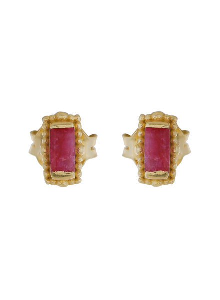 Muja Juma Earring Ruby