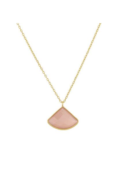 Muja Juma Ausgefallene Pfirsich-Halskette