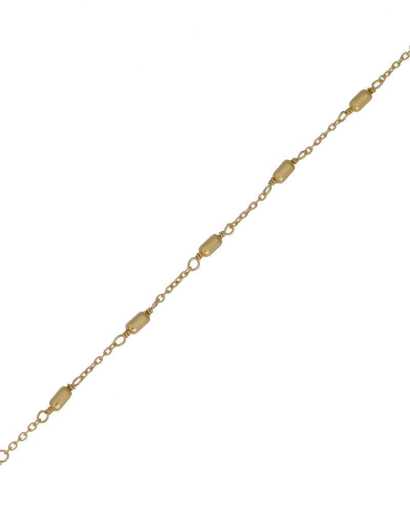 Muja Juma Bracelet  Love gold plated