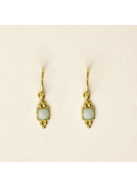 Muja Juma Earring Sweet Amazonite