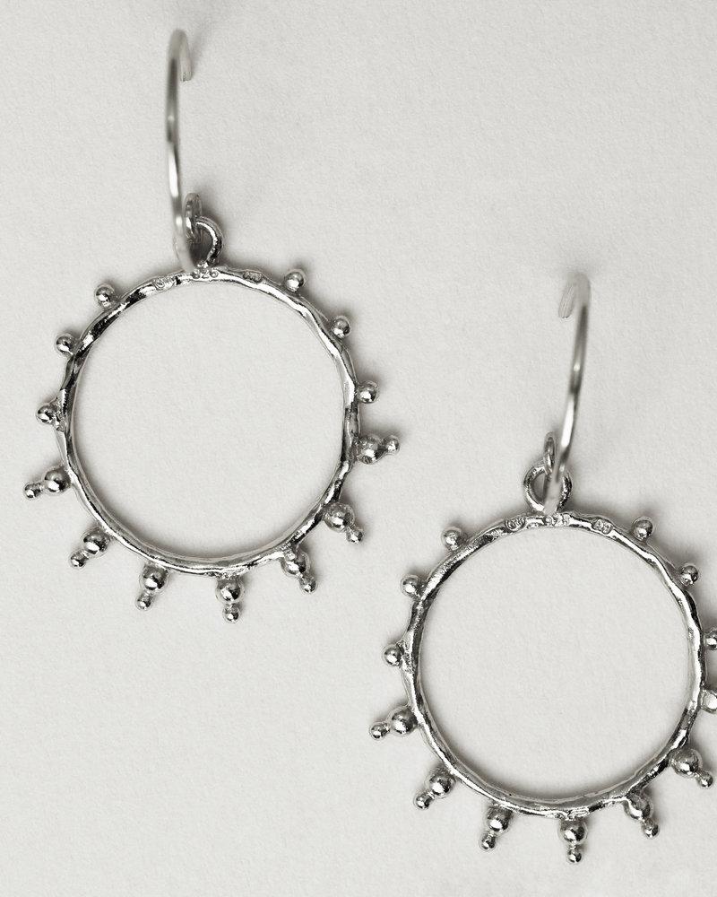 Muja Juma Earring Sunshine 925 sterling silver