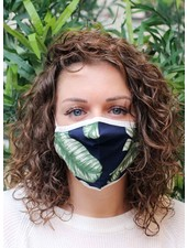 Muja Juma Mouth mask Jungle Blue