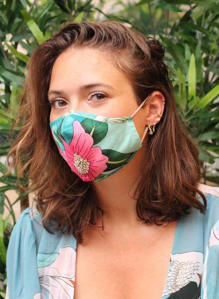 Muja Juma Rose mouth mask