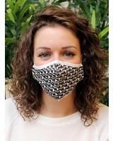 Muja Juma Face mask Black / White