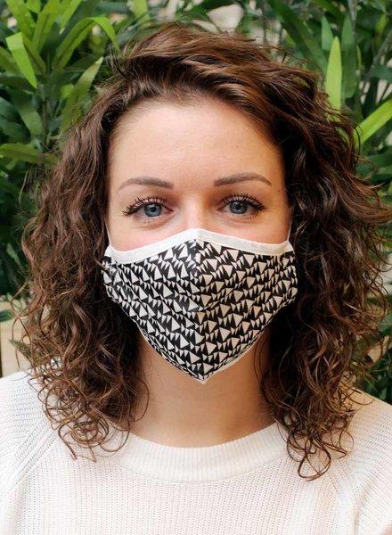 Muja Juma Mouth mask Black / White