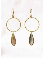 Muja Juma Earring Fancy Labradorite