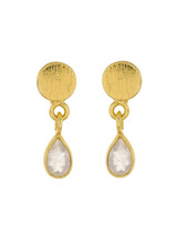 Muja Juma Earring Moonstone drop stud
