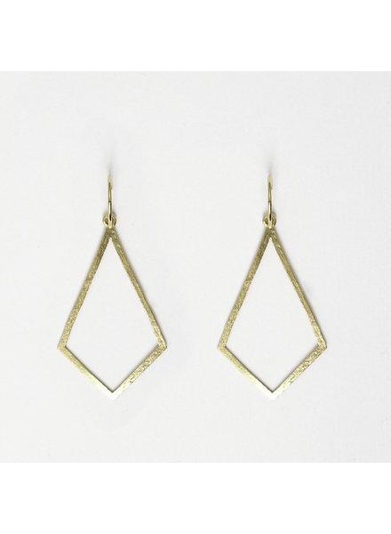 Muja Juma Earring Diamond shape