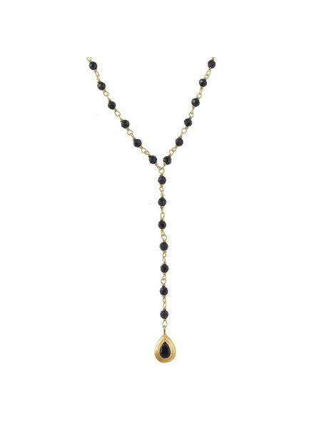 Muja Juma Collier Onyx Beads