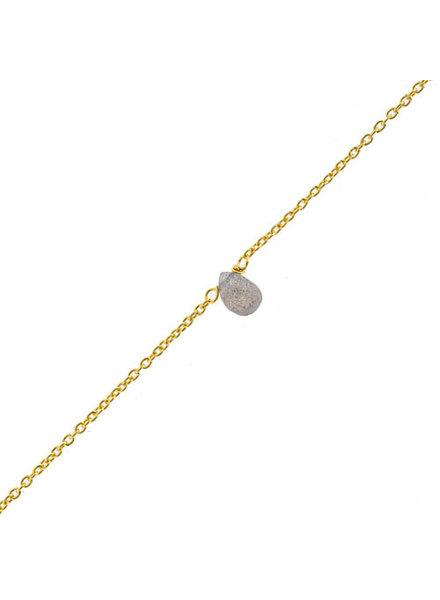 Muja Juma Bracelet Drop Labradorite