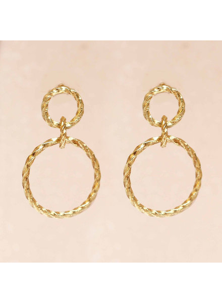 Muja Juma Earring double hoops