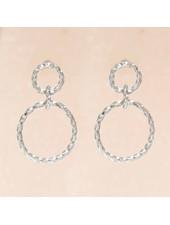 Muja Juma Earring double hoops - Copy