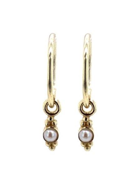 Muja Juma Little Earring sweet pearl Long