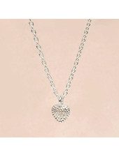 Necklace little silver heart