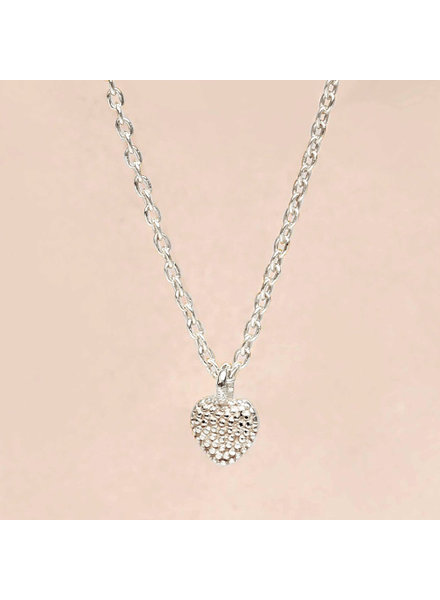 Necklace little silver heart
