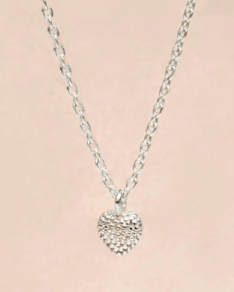Necklace little heart  925 sterling silver
