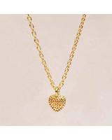 Necklace little golden heart