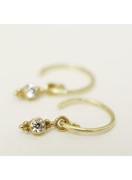 Muja Juma Little Earring Zirkonia Long