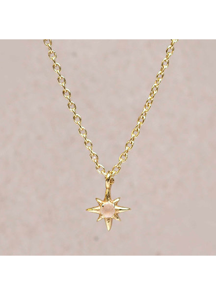 Necklace All stars  Pinky Peach