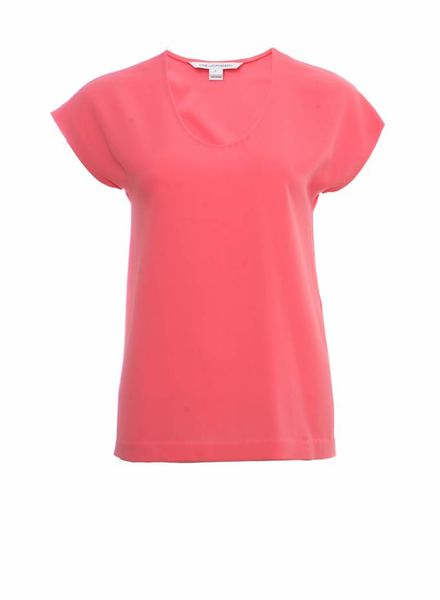 Diane VonFurstenberg Diane Von Furstenberg, pink pastel coloured top in size P/S.